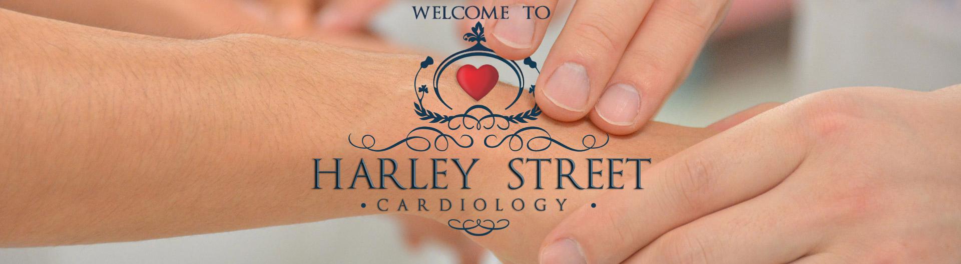 Harley Street Cardiology taking pulse header